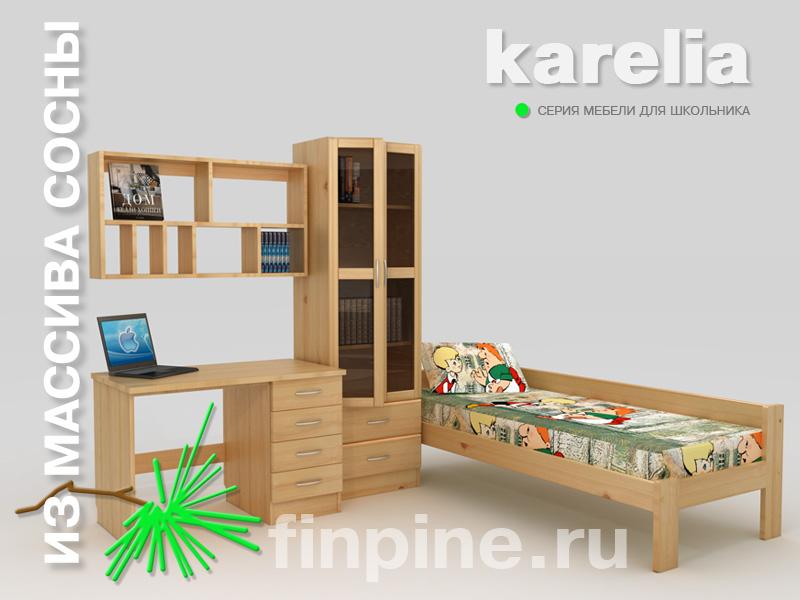 Комплект мебели для школьника и студента. . В комплект входит: кровать &qu